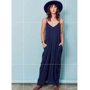 Lovestitch Harem Maxi Dress in Navy Small/Medium